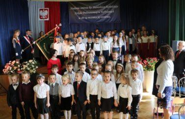 Nadanie imienia ks. Stanisława Kołodzieja Szkole Podstawowej w Kobylanach